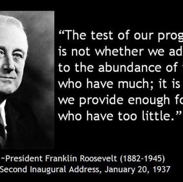 FDR Weighs in on World Affairs