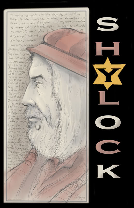 'shylock is a jew in a Shylock: shylock,, the jewish moneylender in shakespeare's comedy the merchant of venice shylock is a grasping but proud and somewhat tragic figure, and his role and shakespeare's intentions continue to be the source of much discussion.